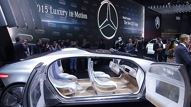 Mercedes boss: The car is becoming a smartphone on wheels